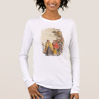 The Caciche Indians in Traditional Costumes, Nova Long Sleeve T-Shirt