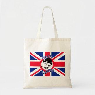 The Cad s Union Jack Hello Ladies Canvas Bag