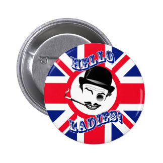 "The Cad's Union Jack ""Hello Ladies!"" Pins"