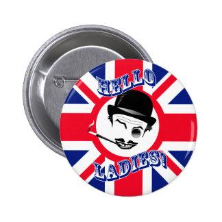 "The Cad's Union Jack ""Hello Ladies!"" Pins"
