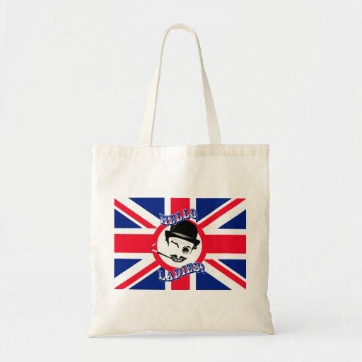 "The Cad's Union Jack ""Hello Ladies!"" Canvas Bag"