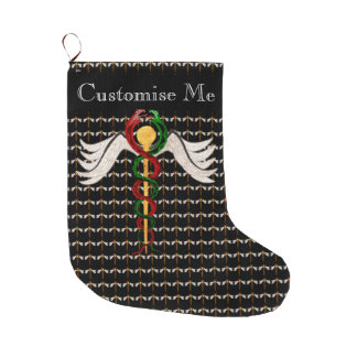 The Caduceus (Full Colour) Large Christmas Stocking