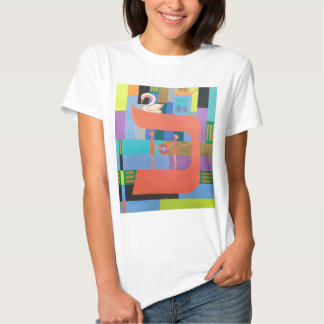 The Caf Letter - Hebrew Alphabet T Shirt