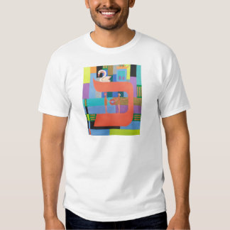 The Caf Letter - Hebrew Alphabet T Shirts
