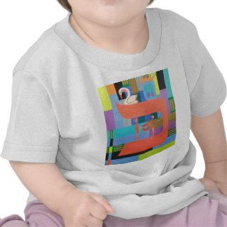 The Caf Letter - Hebrew Alphabet Shirts
