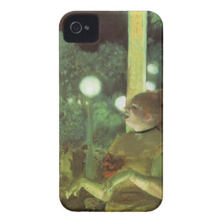 The Cafe Concert by Edgar Degas, Vintage Fine Art iPhone 4 Case-Mate Cases