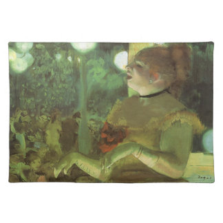The Cafe Concert by Edgar Degas, Vintage Fine Art Placemats