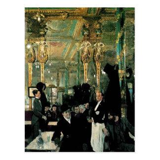 The Café Royal, London by William Orpen (1912) Postcard