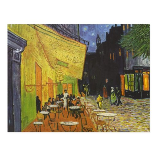 The Cafe Terrace on the place Du forum, arles Postcards