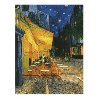 the cafe terrace on the place du forum... postcard