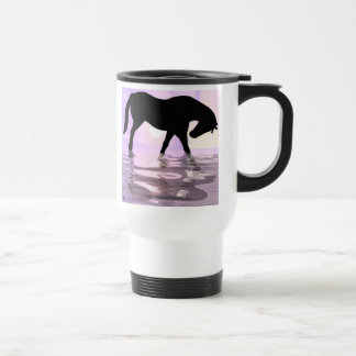 The Caffeinated Colt Travel Mug