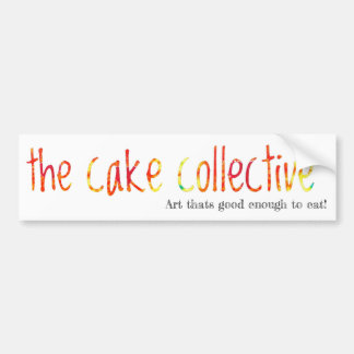 The Cake Collective bumper sticker (1)
