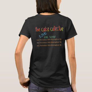 The Cake Collective tour 2018 - women's t-shirt