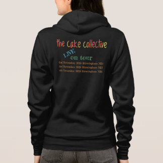 The Cake Collective zip hoodie 2018 tour edition