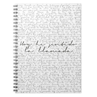 The Call Notebooks