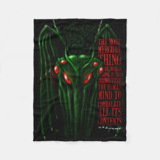 The Call of Cthulhu by H.P. Lovecraft blanket Fleece Blanket