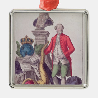 The Call of Jacques Necker  16th July 1789 Silver-Colored Square Decoration