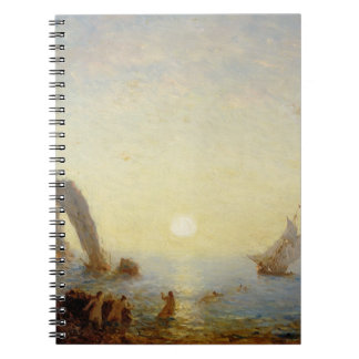 The Call of the Sirens (oil on canvas) Notebook