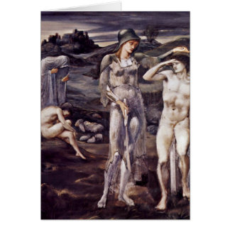 The Calling Of Perseus By Sir Edward Burne-Jones Greeting Card