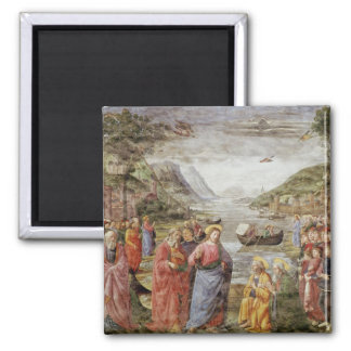 The Calling of SS. Peter and Andrew, 1481 Square Magnet
