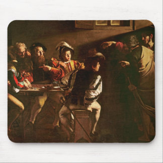 The Calling of St. Matthew, c.1598-1601 Mouse Mat