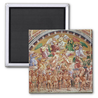 The Calling of the Chosen to Heaven Square Magnet