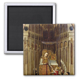 The Calling of the Virgin Square Magnet