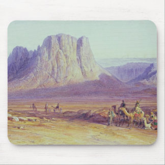 The Camel Train, Condessi, Mount Sinai, 1848 Mouse Mat