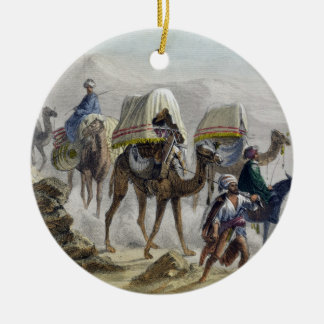 The Camel Train, from 'Constantinople and the Blac Christmas Ornament