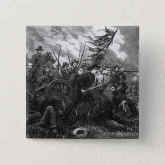 The Campaign in Virginia - 'On to Richmond' 15 Cm Square Badge