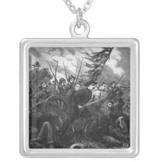 The Campaign in Virginia - 'On to Richmond' Silver Plated Necklace