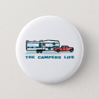 The Campers Life 6 Cm Round Badge