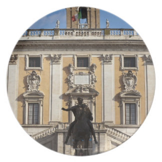 The Campidoglio (Capitoline Hill), between the Plate