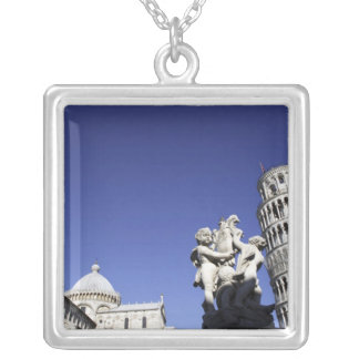 The Campo dei Miracoli Field of Miracles) is Silver Plated Necklace