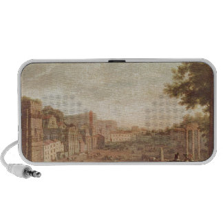 The Campo Vaccino, Rome by Claude Lorrain Notebook Speaker