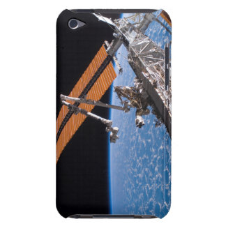 The Canadarm2 and solar array panel wings Barely There iPod Covers