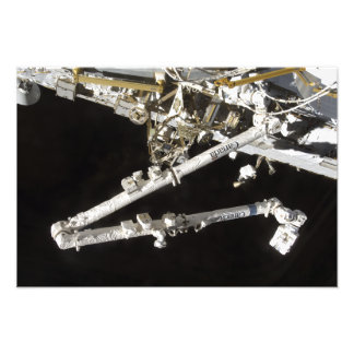 The Canadian-built space station Art Photo