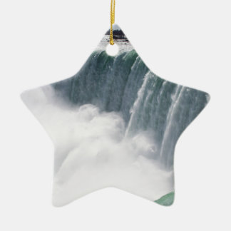 The Canadian Falls or Horseshoe Falls at Niagara F Christmas Ornament