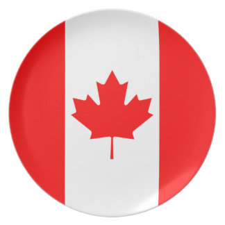 The Canadian Flag, Canada Plate