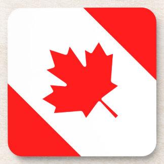 The Canadian Flag - Canada Souvenir Coaster