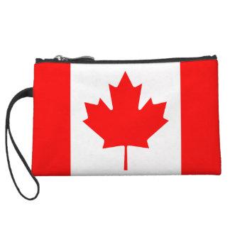 The Canadian Flag - Canada Souvenir Wristlet