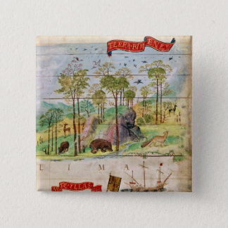 The Canadian Forest 15 Cm Square Badge