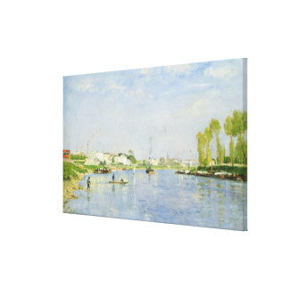 The Canal Saint-Denis Canvas Print