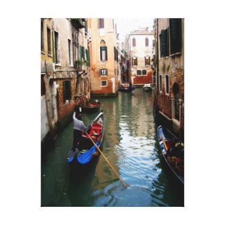 The Canals of Venice, Italy Canvas Print