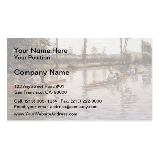 The Canoe  by Gustave Caillebotte Pack Of Standard Business Cards