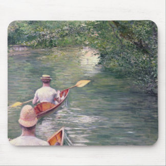The Canoes, 1878 Mouse Mat