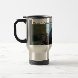 The Canon Porthleven Cornwall England Stainless Steel Travel Mug
