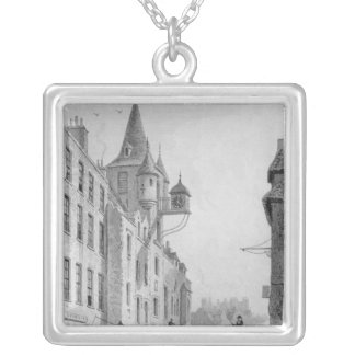The Canongate Tolbooth, Edinburgh Silver Plated Necklace