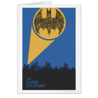 The Caped Crusader Card