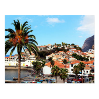 The Capital City of Funchal in Madeira Postcard